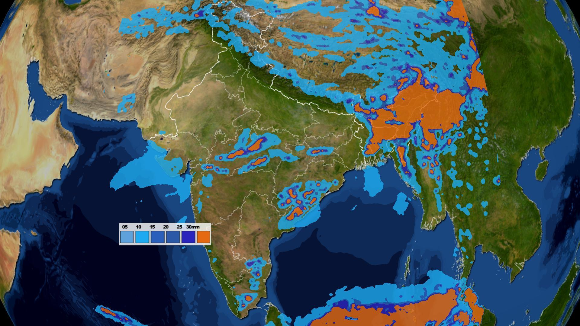 Weather Forecast India Map Weather forecast for the week in India 15th  21st April | Skymet  Weather Forecast India Map