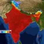 Temperatures in Delhi