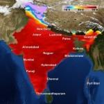 Temperatures in India