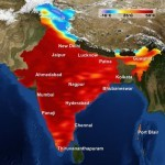 Temperatures in India