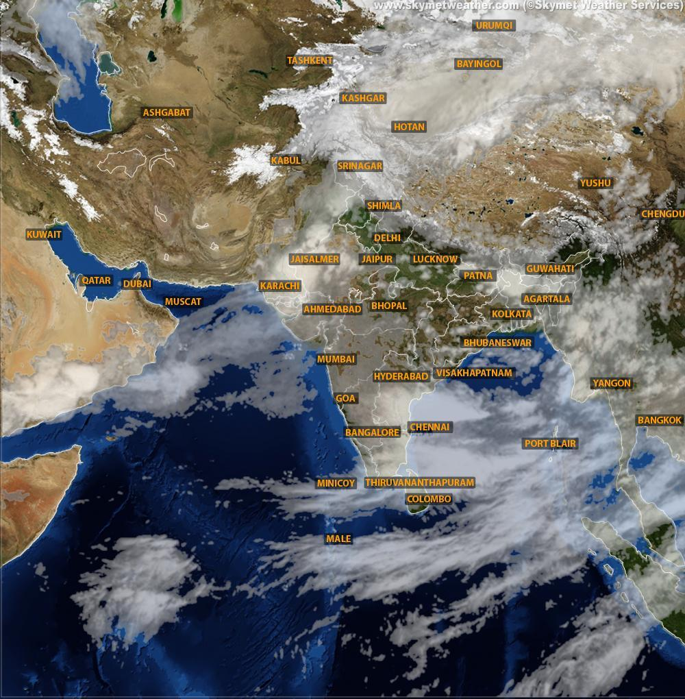 Heavy rainfall expected in north Gujarat, south Rajasthan | Skymet