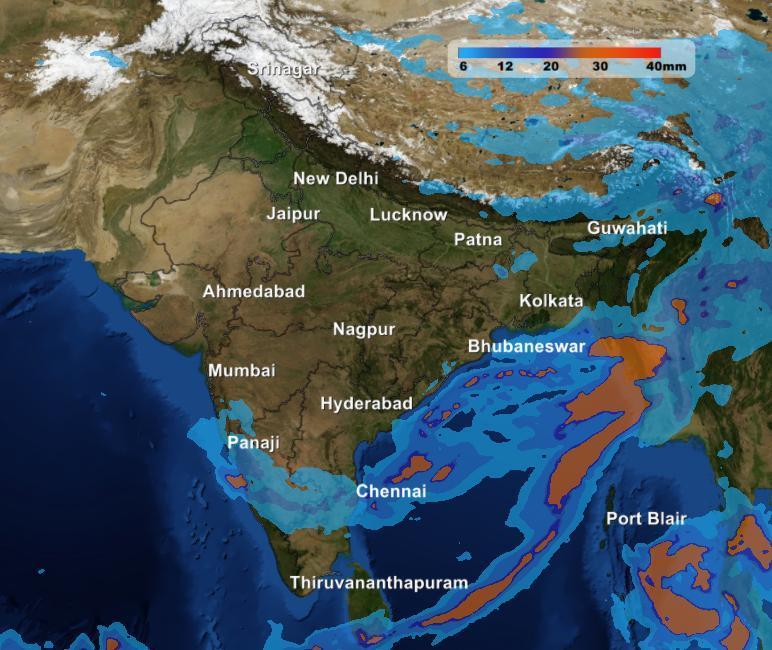Northeast Weather Forecast Isolated Coastal Showers