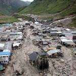 landslide in India, Himalayas