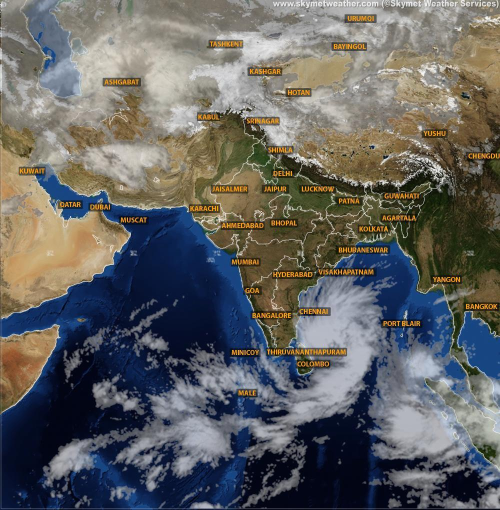 Low pressure in Bay of Bengal turns into depression | Skymet Weather on