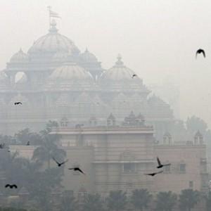 Smog in Delhi
