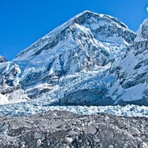 glacier melting global warming