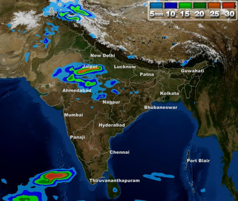 Weather Map Report.Weather Forecast For The Week In India From 24th February To 2nd