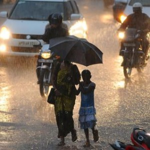 rain in India in March