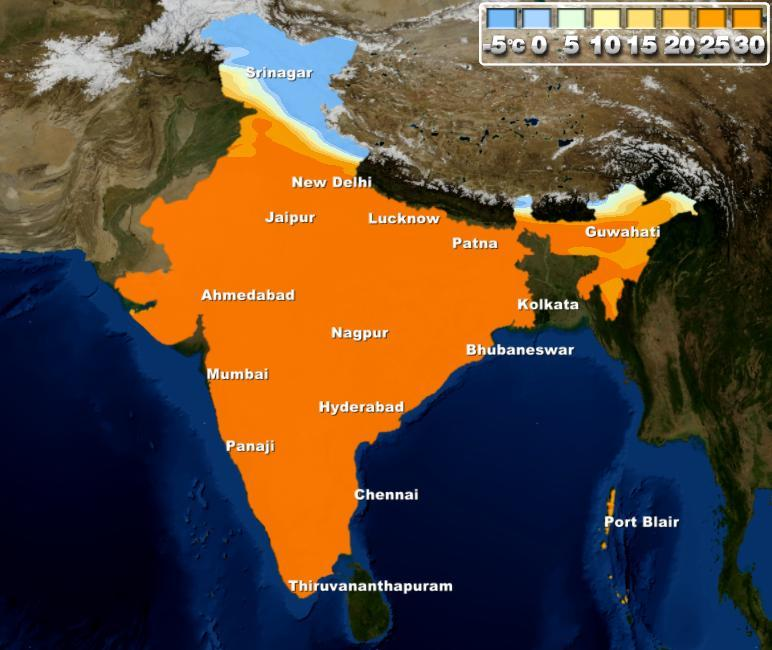 Post rain, day temperatures to rise in Northwest India | Skymet