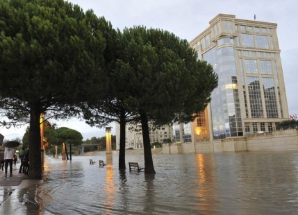 Floods in South France
