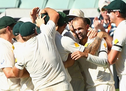 Lyon bowls Australia to dramatic win