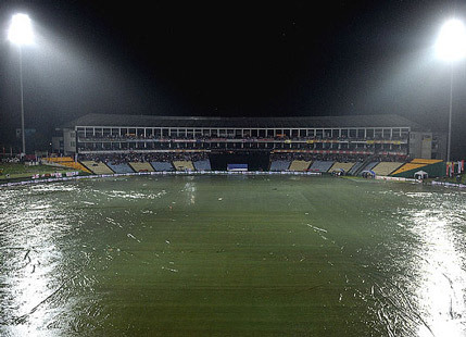 NE MONSOON CONVERTS KANDY ONE DAY INTO A TWO DAY MATCH!
