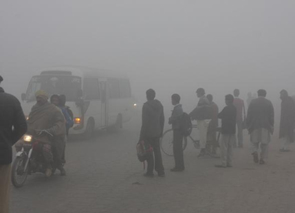 Smog Stagnates Over Pakistan Amp Northern India Air Quality
