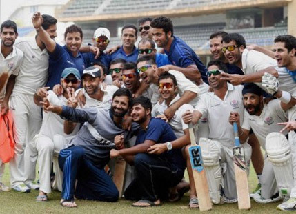 UNDERPREPARED & FLOOD-STRICKEN J&K BEAT 40 TIME RANJI CHAMPS MUMBAI