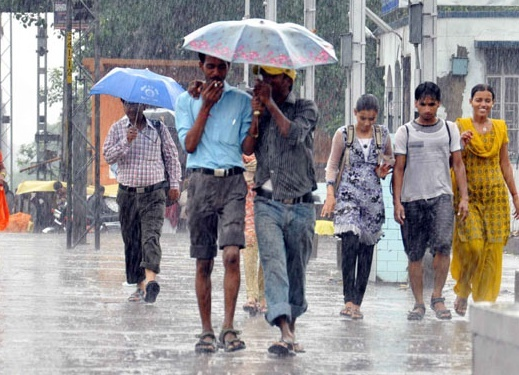 Rain in Patna