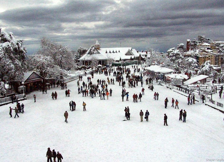 Image result for snow in himachal pradesh