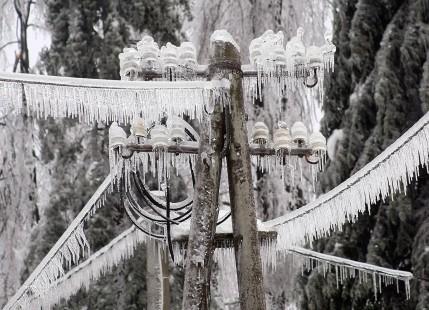 Frozen power cables