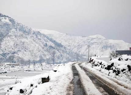 Snowfall in Jammu & Kashmir
