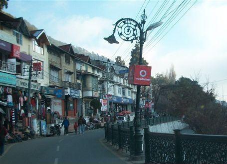 Nainital Mall Road