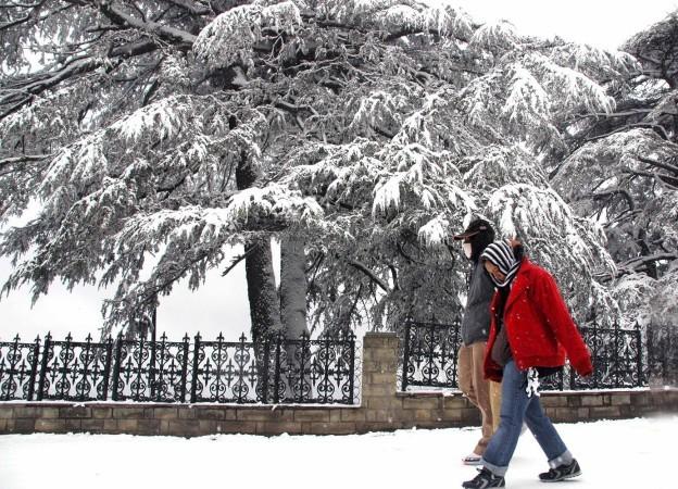 Snowfall in J&K