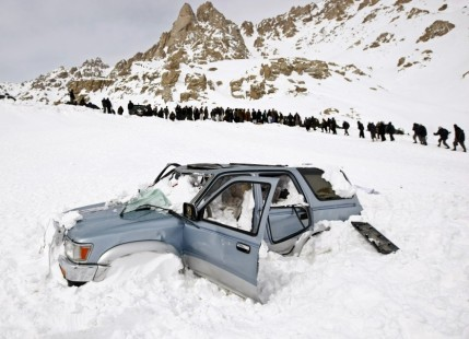 Avalanche in Afghanistan