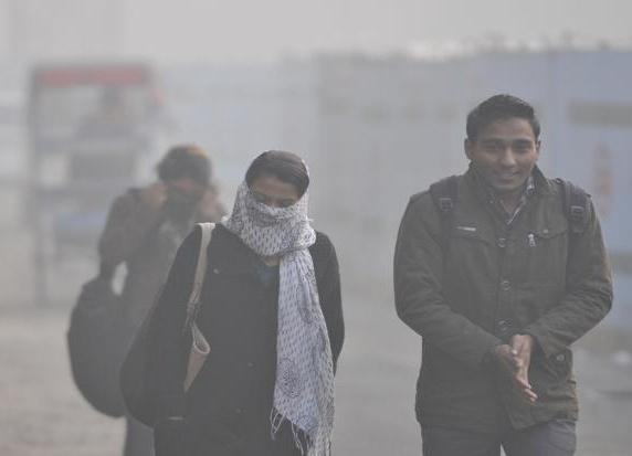 Fog in East India