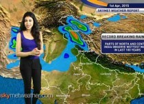 National weather video for 01-04-2015: Weather news report and weather forecast for all parts of India.