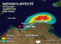 Cyclone Nathan Update