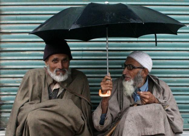 Rain in Srinagar