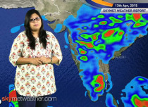 National Weather Video Report For 13-04-2015