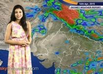 16-04-2015 - Skymet Weather Report