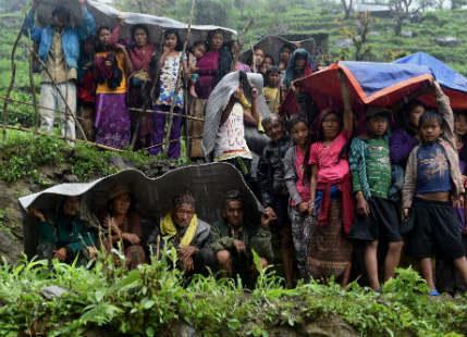Rain in Nepal