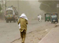Dust Storm in Pakistan