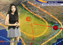 National Weather Video Report For 26-04-2015