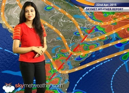 National Weather Video Report For 22-04-2015