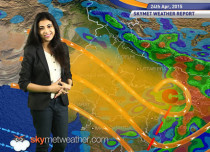 National Weather Video Report For 23-04-2015