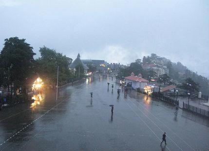 Shimla Rain