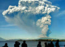 South Chile volcano wakes up