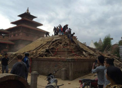 Iconic Buildings of Nepal Destroyed