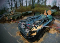 Violent Storm Niklas kills Nine in Central Europe