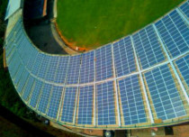 Solar Powered M Chennaswamy Stadium