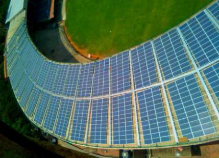 Solar Powered M Chennaswamy Stadium