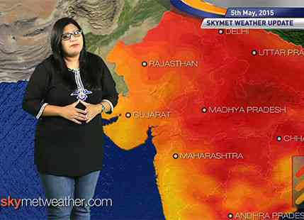 National Weather Video Report For 05-05-2015