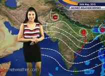 National Weather Video Report For 24-05-2015