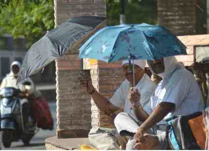 Heat in Nagpur
