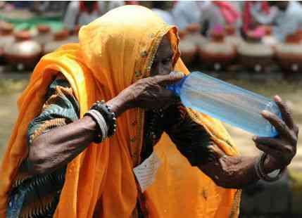 Heat wave in Uttar Pradesh
