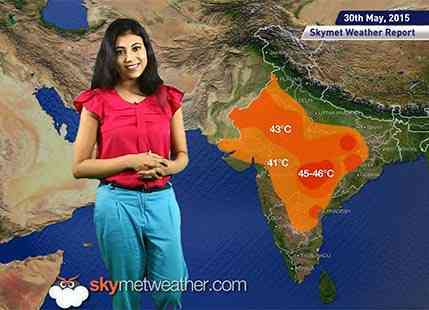National Weather Video Report For 30-05-2015