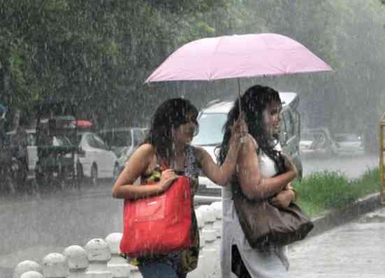 North India rain
