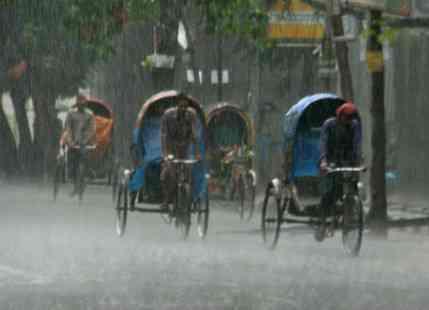 Rain Continues to Lash Parts of Bangladesh