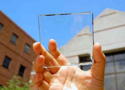 Fully Transparent Solar Cells